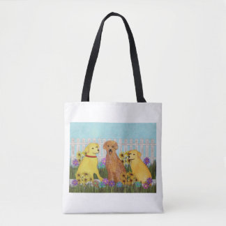 Golden Retriever Sunshine Tote Bag