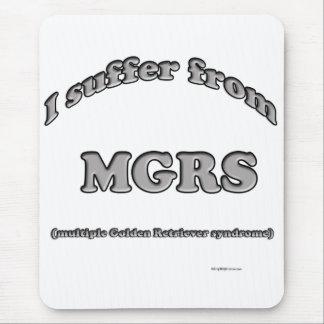 Golden Retriever Syndrome Mouse Pad