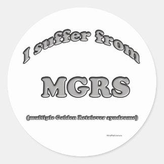 Golden Retriever Syndrome - Sticker