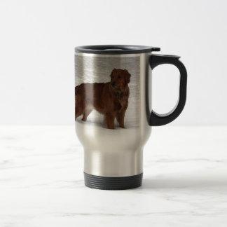 Golden retriever tazas de café