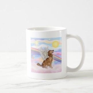 Golden retriever taza de café