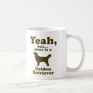 Golden retriever tazas