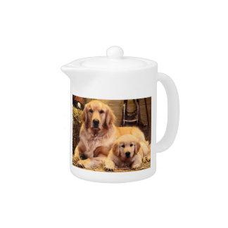 Golden Retriever Teapot