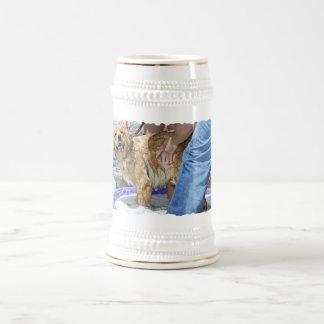 Golden Retriever - That's the Spot Beer Stein