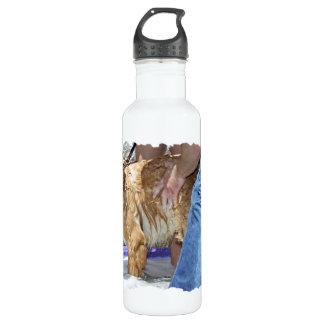 Golden Retriever - That's the Spot Stainless Steel Water Bottle