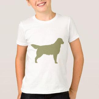Golden retriever (verde salvia) camisas