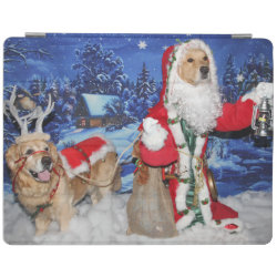 iPad 2/3/4 Cover with Golden Retriever Phone Cases design