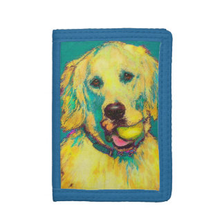 golden retriever wallet