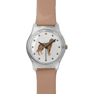 Golden Retriever Wristwatch