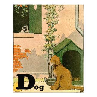 Golden retriever y Jack Russel Terrier Fotografías