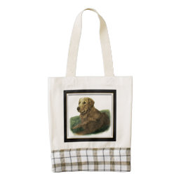 Golden Retriever Zazzle HEART Tote Bag