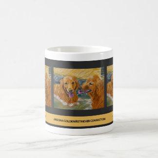 Golden Retrievers Frolic Mug