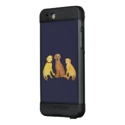 LifeProof® NUUD® for iPhone® 6S Plus Case with Golden Retriever Phone Cases design