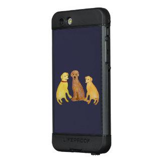 Golden Retrievers LifeProof® NÜÜD® iPhone 6s Case
