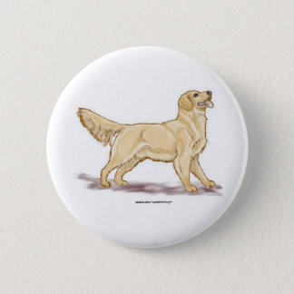 Golden Retrievers Pinback Button