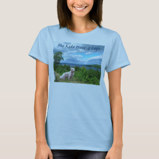 Golden RetrieverT-Shirt My Kids Have 4 Legs T-Shirt