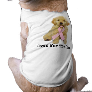 Golden Retriver Breast Cancer Pet Clothing