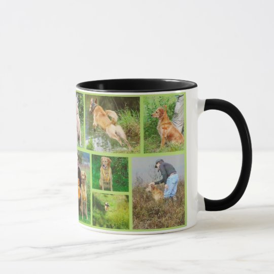 Golden Retriver Field Mug