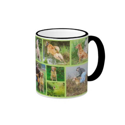 Golden Retriver Field Mug