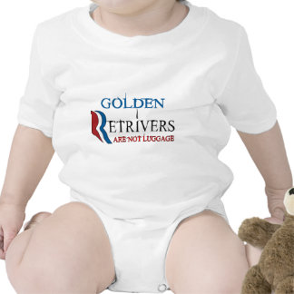 Golden Retrivers Are Not Luggage.png Bodysuit