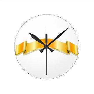 Golden Ribbon Clocks
