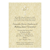 Christian Theme Wedding Invitations Unique and Special Wedding