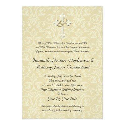 golden rings christian wedding invitations zazzle com Wedding Invitation For Christian Wedding Invitation For Christian #4 wedding invitations for christmas