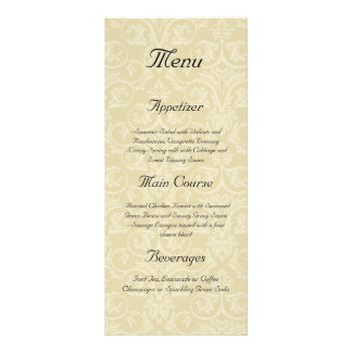 Golden Rings with Cross, Elegant Christian Love Rack Card