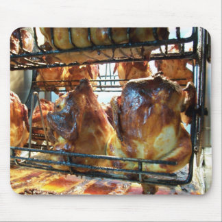Golden Roasted Rottiserie Chicken Mouse Pad