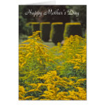 Golden rod mother's day card