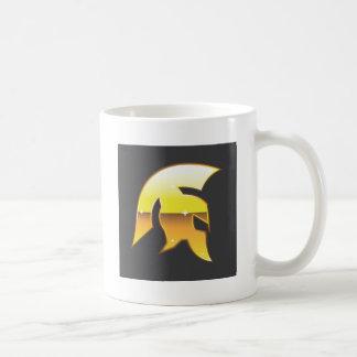 Golden Roman Helmet Coffee Mug