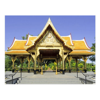 Golden Roof Pavilion Thailand Postcard