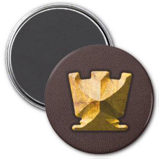 Golden Rook - Zero Gravity Chess (SLG) Fridge Magnets