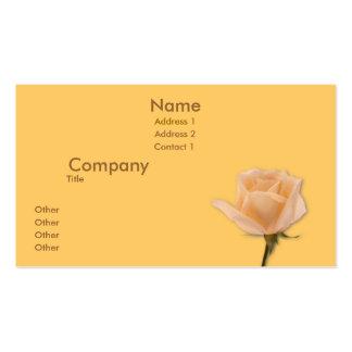 Golden Rose Business Card Templates