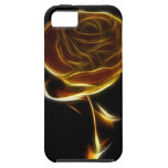 Golden Rose Designed with Vector Software iPhone 5 Covers