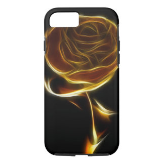 Golden Rose Designed with Vector Software iPhone 8/7 Case