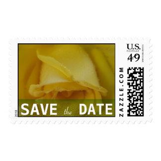 Golden Rose Wedding Postage