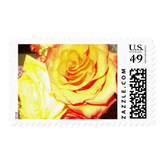 Golden Roses Postage