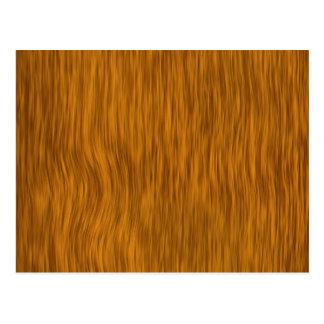 Golden Rough Wood Texture Background Postcard