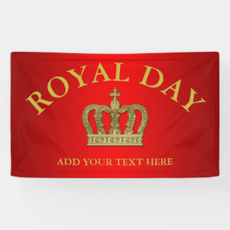 Golden Royal Crown II + your backgr. & ideas Banner