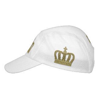 Golden Royal Crown II + your backgr. & ideas Headsweats Hat