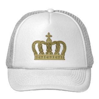 Golden Royal Crown II + your backgr. & ideas Trucker Hat
