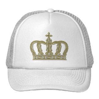 Golden Royal Crown III + your backgr. & ideas Trucker Hat