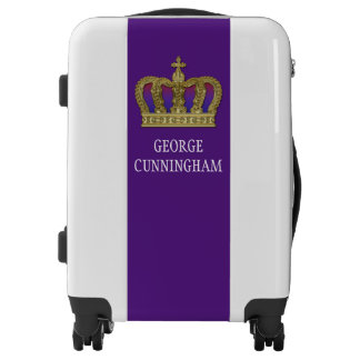 Golden Royal Crown IV + your backgr. & ideas Luggage