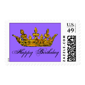 Golden Royal Crown Postage