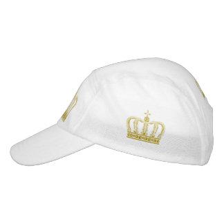 Golden Royal Crown + your backgr. & ideas Headsweats Hat
