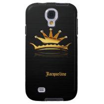 Golden Royal Queen Crown iPod Samsung s4  Case
