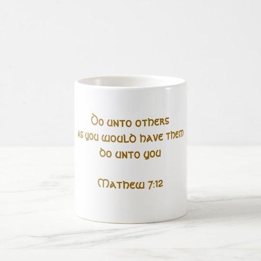 Golden Rule Classic White Coffee Mug