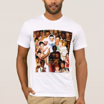Golden Rule (Do unto others) by Norman Rockwell T-Shirt