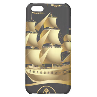 Golden-Sailboat.ai Cover For iPhone 5C